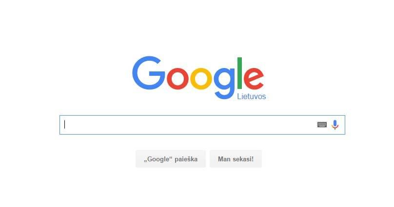 google-pradinis-puslapis