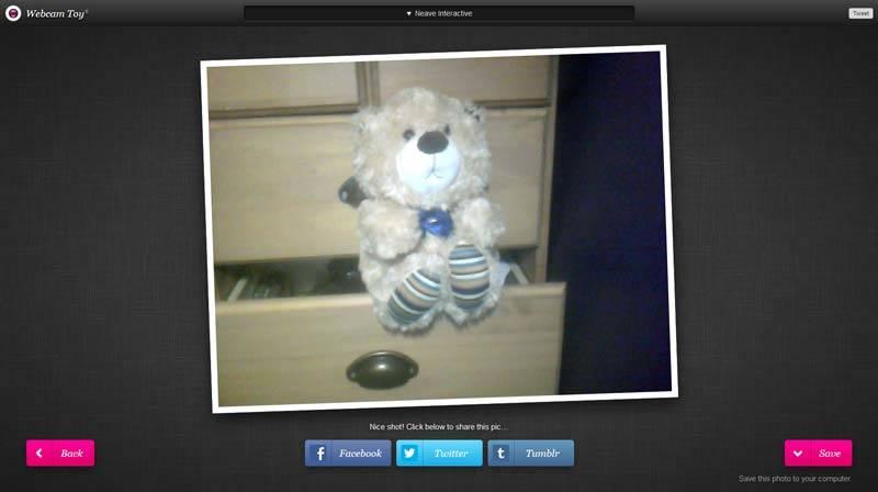 webcamtoy nuotrauka su kompiuteriu