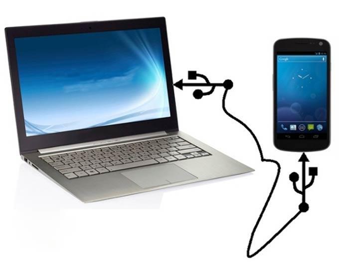 kaip android prijungti prie kompiuterio