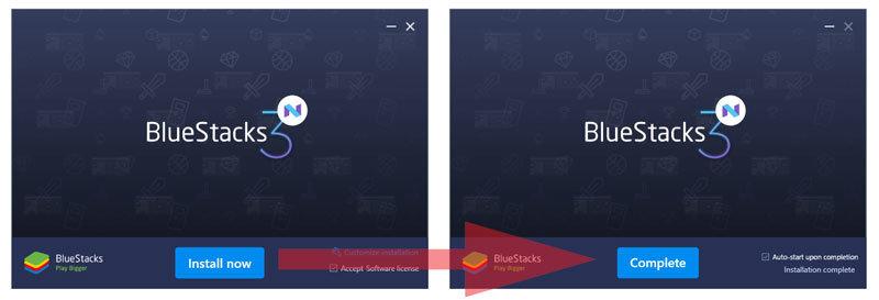 bluestacks android zaidimai kompiuteryje
