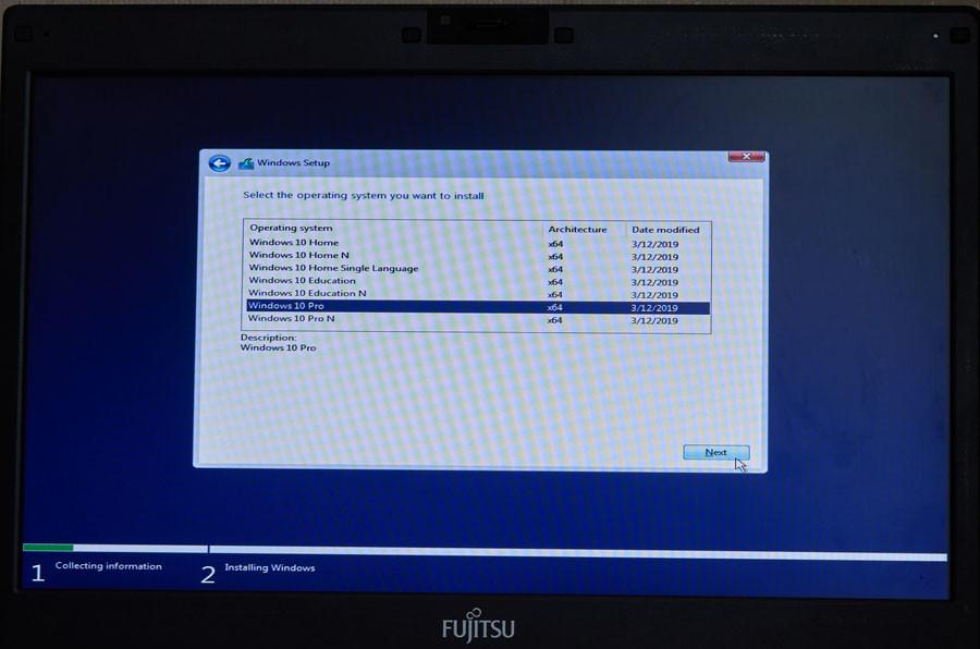 windows instaliavimas