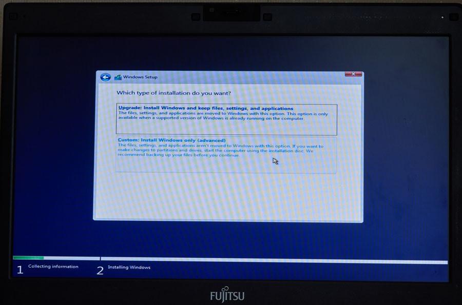 windows perinstaliuoti iš naujo