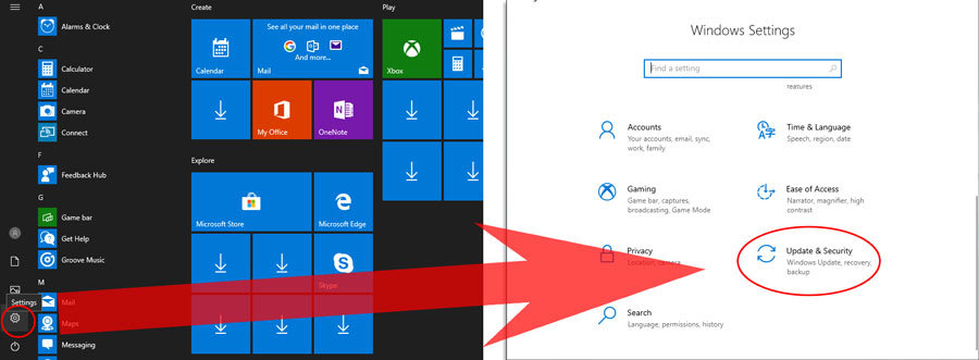 windows atnaujinimai