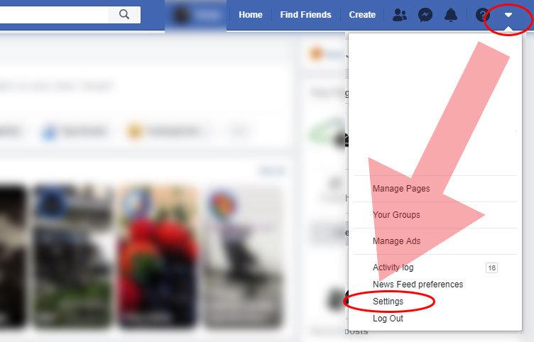 kaip pakeisti facebook kalbą