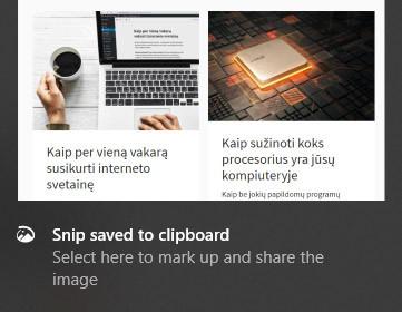 nufotografuotas ekrano vaizdas